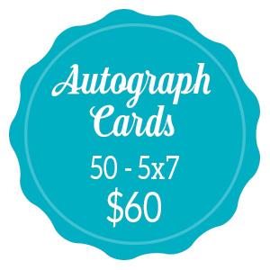 Autograph Cards $50